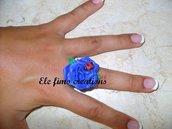 Una rosa blu