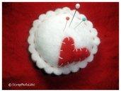 Bomboniera Matrimonio - Puntaspilli Love&Flower