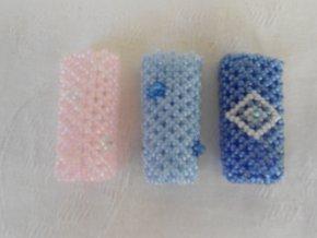 portaccendini di perline