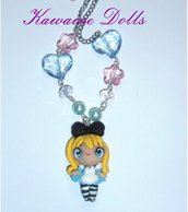 Collana  Alice in Wonderland Necklace