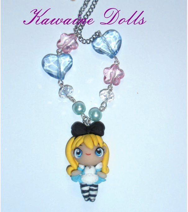 Collana  Alice in Wonderland Necklace