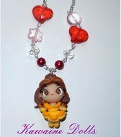 Collana Belle Beauty and the Beast Necklace