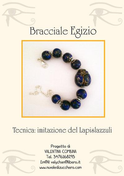 """Tutorial """"Imitazione del Lapislazzuli con le paste sintetiche"""""""