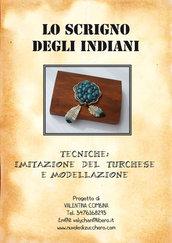 """Tutorial """"Imitazione del Turchese, modellazione e finto argentocon le paste sintetiche"""""""