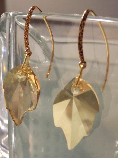 orecchini GOLD LEAFS