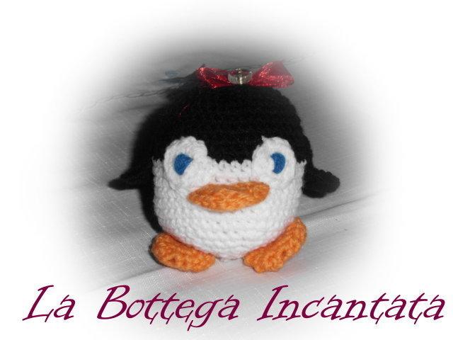 Amigurumi - Pinguino