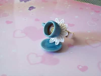 Tea ring-blue