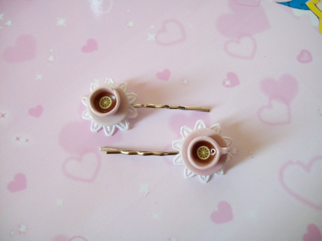One hair clip-pink
