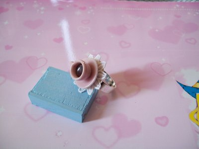Coffe ring-pink