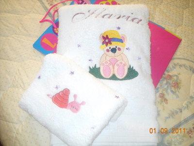 asciugamano in spugna con ospite, puro cotone