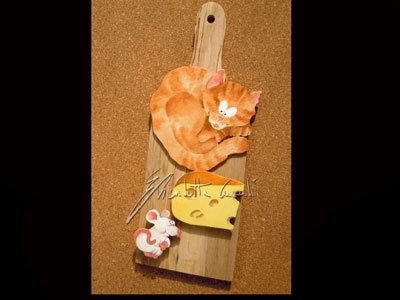 tagliere memo gatto e topo
