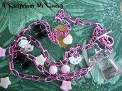 Collana Rosa*Hello Kitty