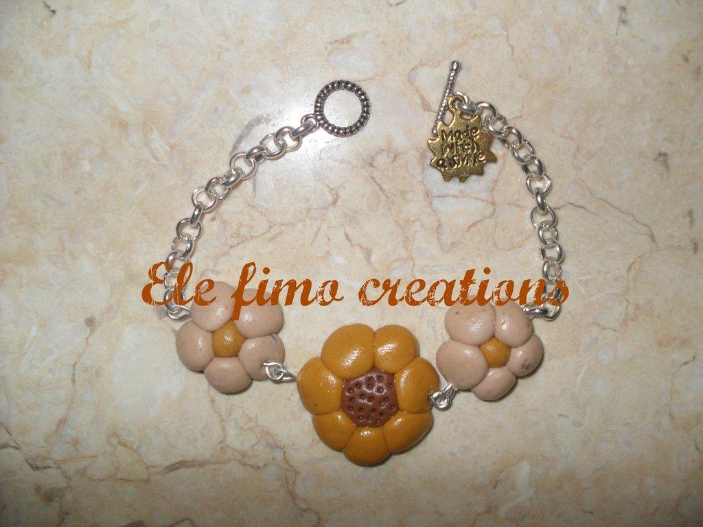 Braccialetto fiorellini