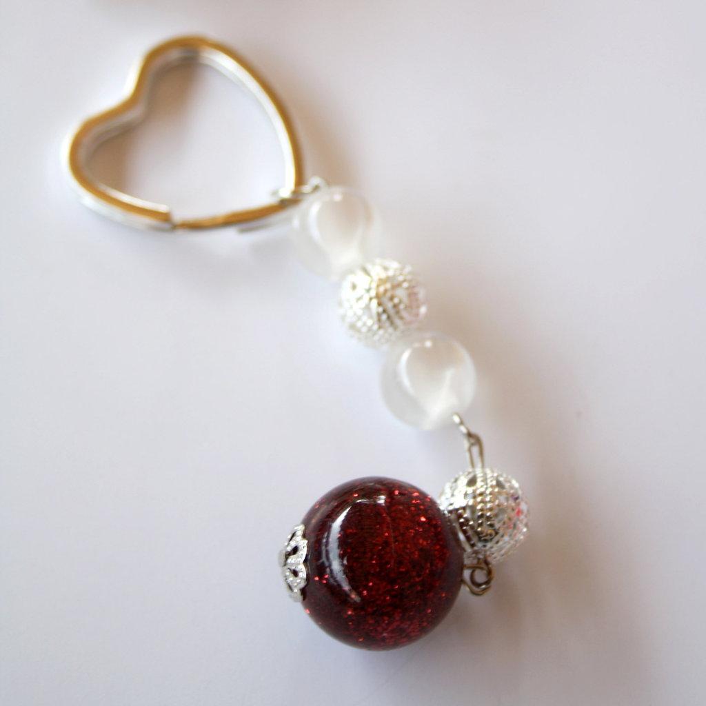 "Portachiavi ""Red Heart"""