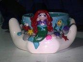 Posacenere Ariel la Sirenetta