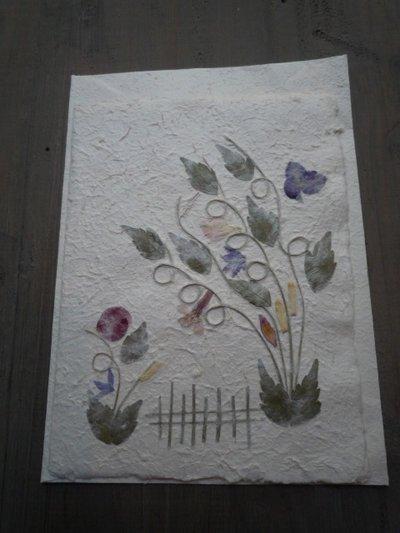 Biglietti con fiori