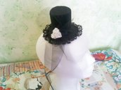 Mini hat / mini cappello in feltro rigido