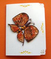 Biglietto d'auguri- farfalla