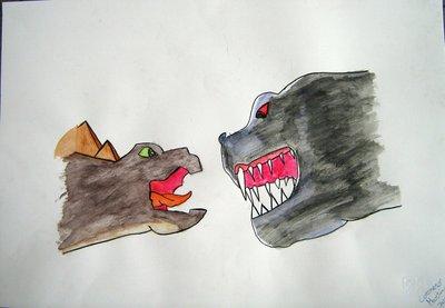 """""""T-rex e stegosauro"""""""