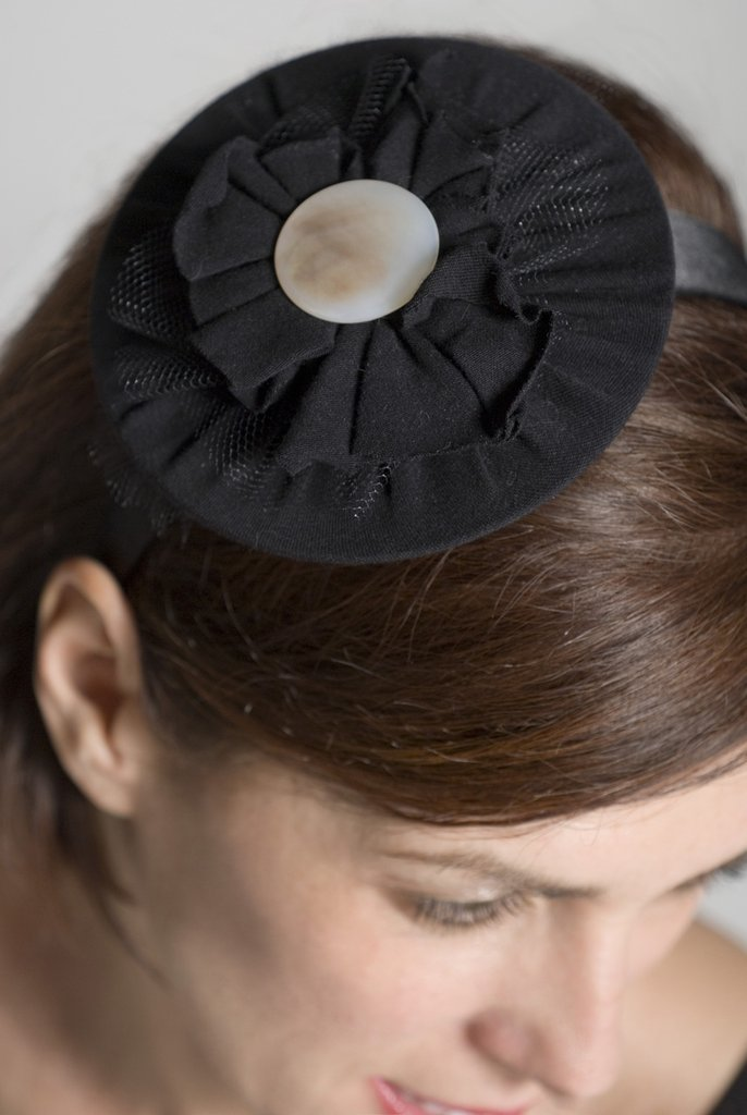 disco nero e perla