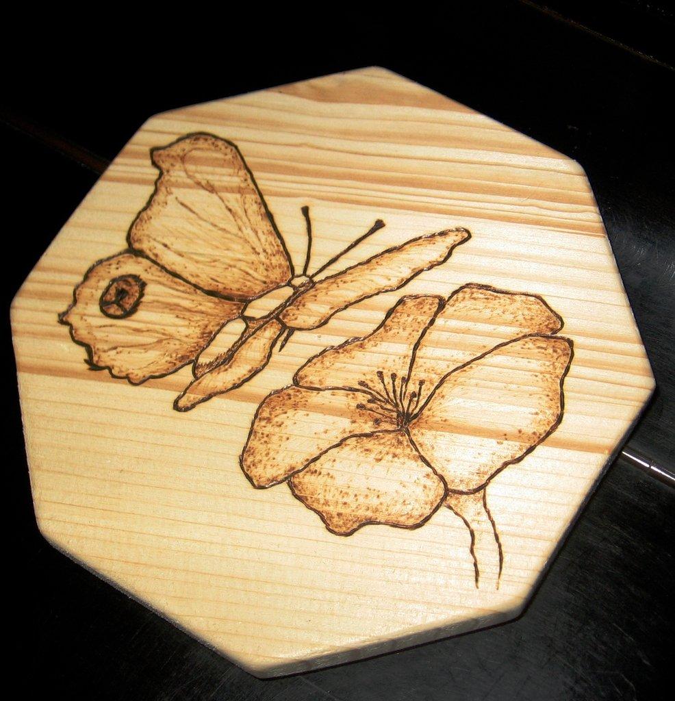 Sottopentola Farfalla