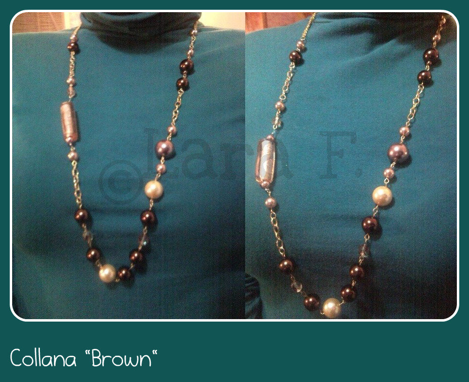 "Collana ""Brown"""