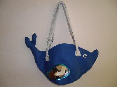 BLUE DOLPHIN BAG