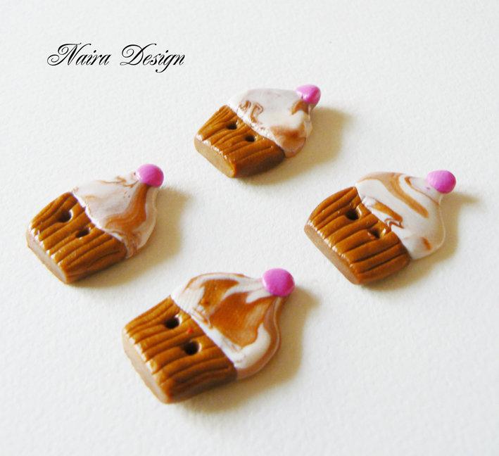 Bottoni Muffin 4 pz