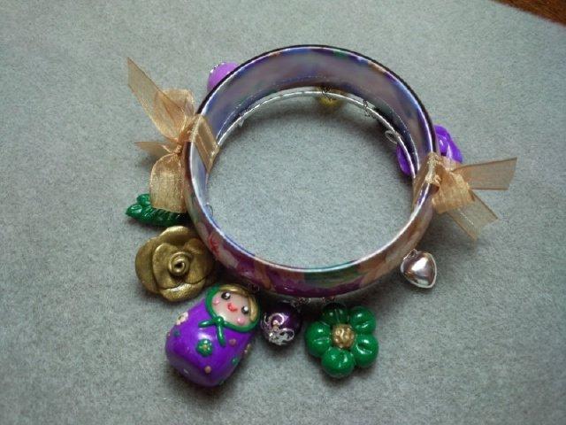 braccialetto pasta polimerica