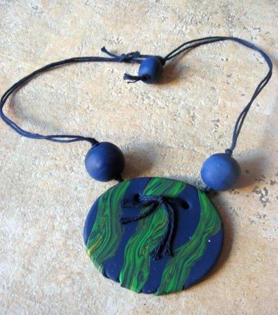 collana blu e verde