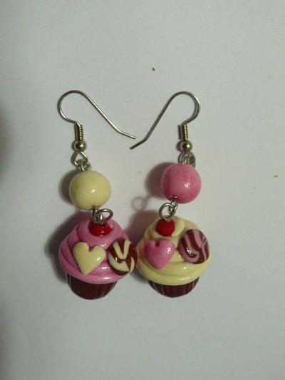 Orecchini Cupcakes