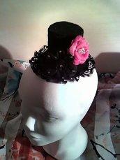 Mini hat / mini cappello in feltro rigido
