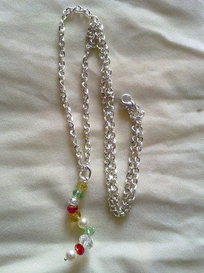 collana con pendente italia B011