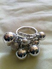 anello con palline B022