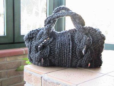 bauletto in lana