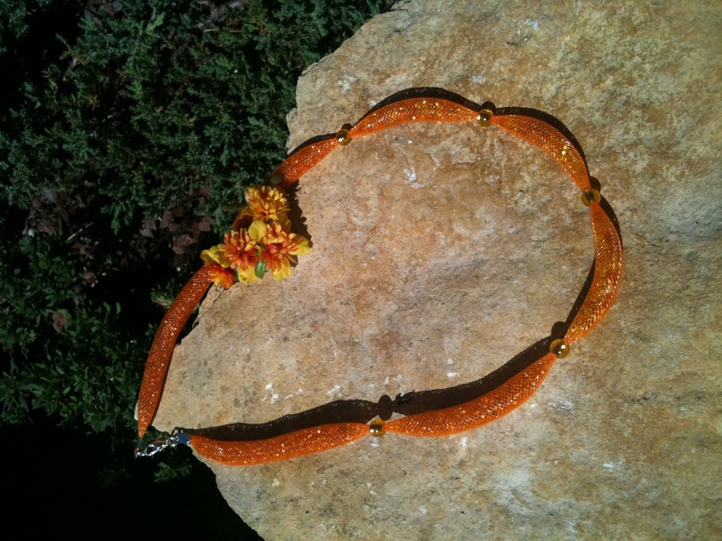 collana arancione