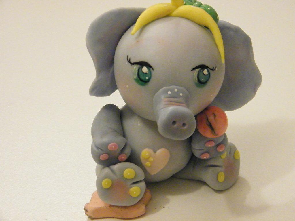 Elefante Porcellana Fredda