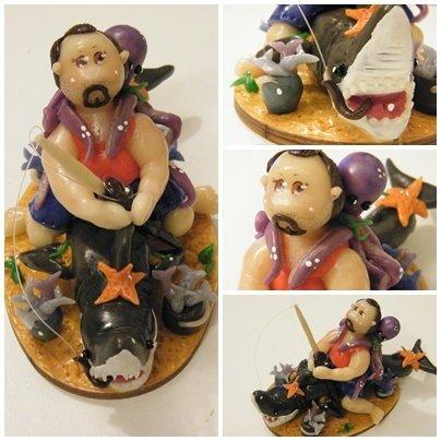Cake Toppers personalizzati in Porcellana Fredda