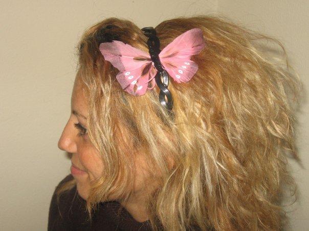 farfalla rosa