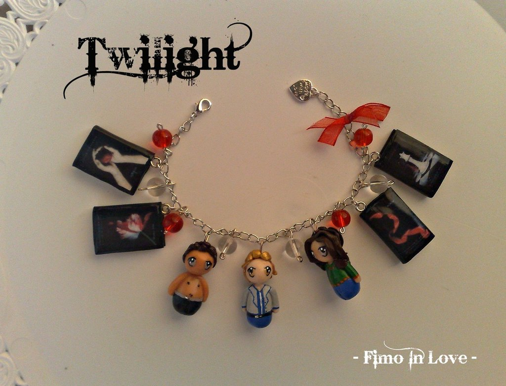 "Braccialetto ""Twilight"" fimo"