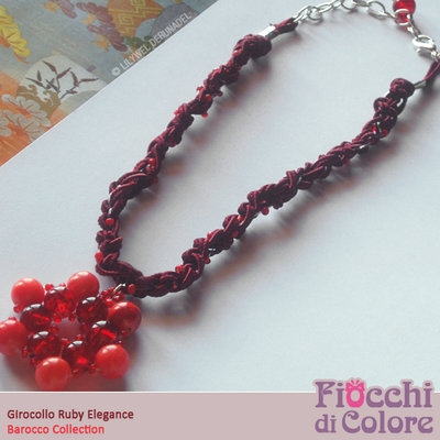 Ruby Elegance Necklace