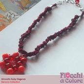 Ruby Elegance Necklace