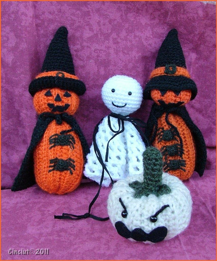 Amici di Halloween pdf pattern