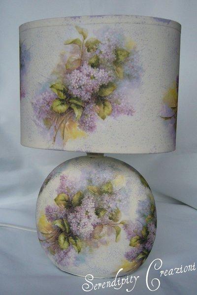 Lampada Abat Jour in ceramica