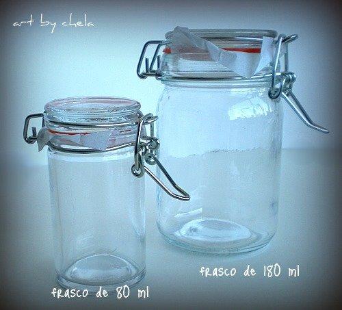 frasco hermético para cosmética 80 ml