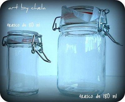 Frasco hermético para cosméticos 180 ml