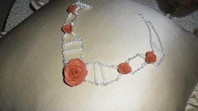 girocollo sposa rose