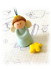 Campanella angelo- bomboniera