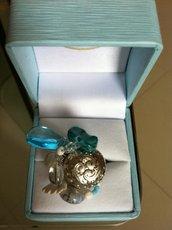 anello pietre turchesi e argento