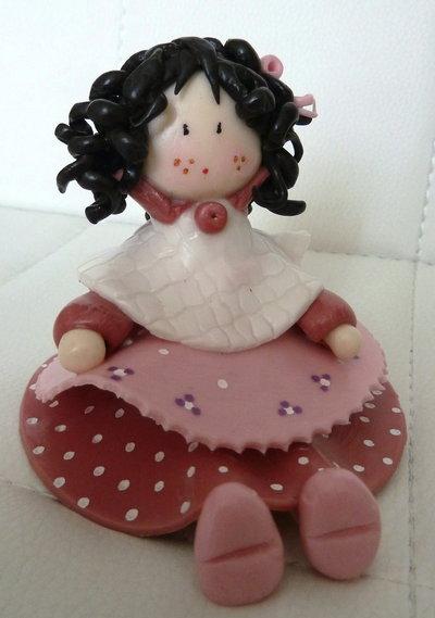 Bambolina prugna/rosa